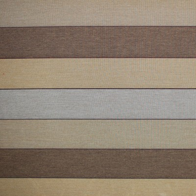 Block Stripe Caramel